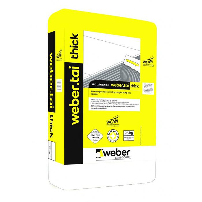 Keo dán gạch Weber - Vượt trội hơn cả về chất lượng-1