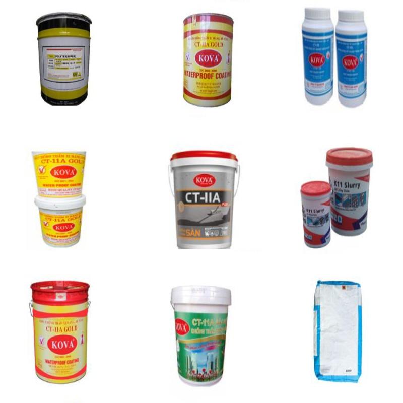 sử dụng keo chống thấm an toàn hiệu quả
