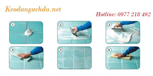 Ưu nhược điểm và cách sử dụng keo chít mạch epoxy-07